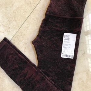 Athleta Elation Glades 7/8 Tights New Condition!